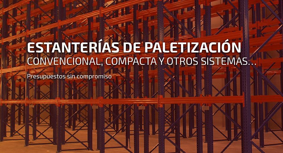 Fabrica De Estanterias Metalicas En Zaragoza.Estanterias Metalicas Esme Paletizacion Cantilever Armarios De
